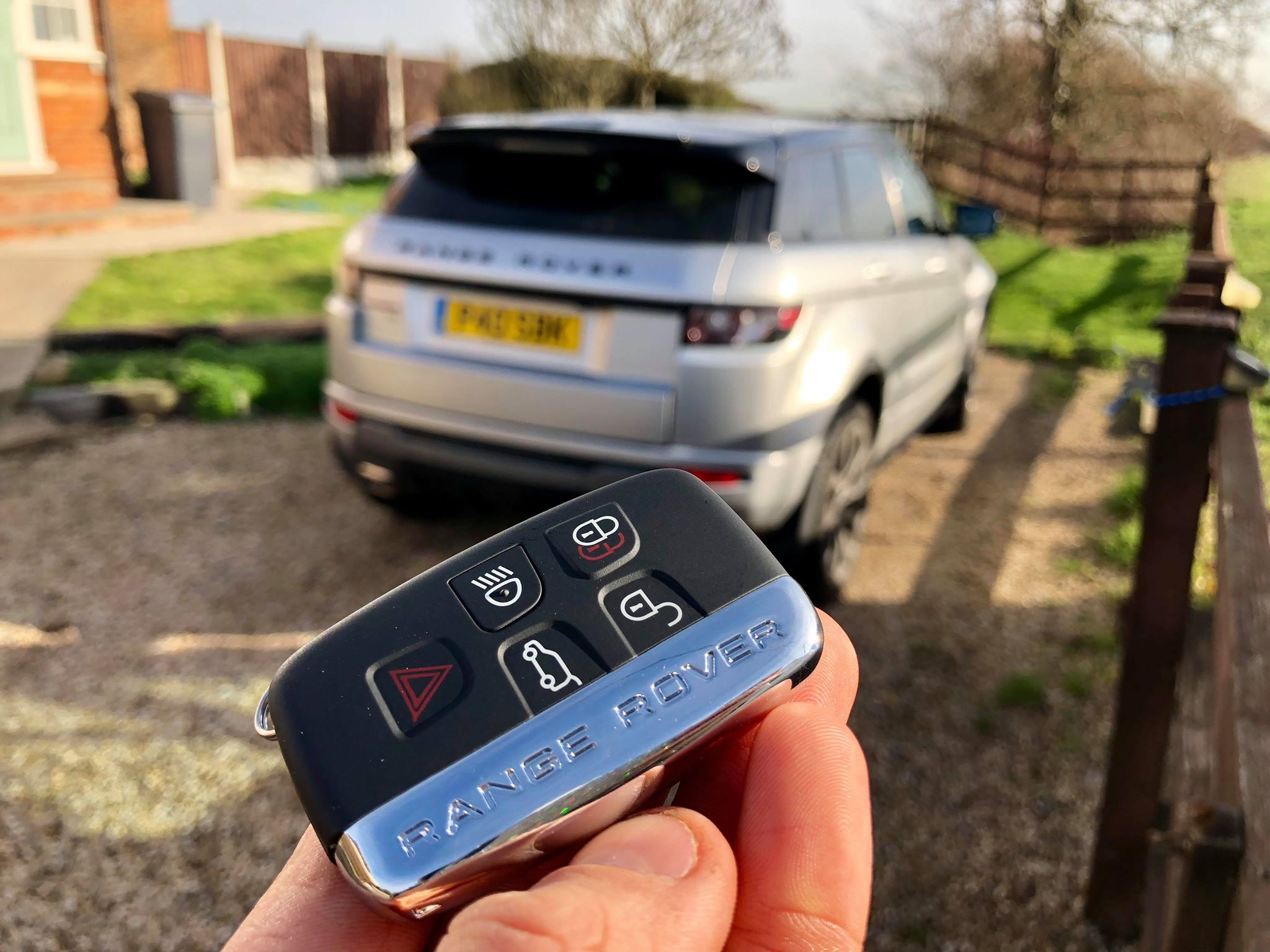 Range Rover Evoque Lost Keys