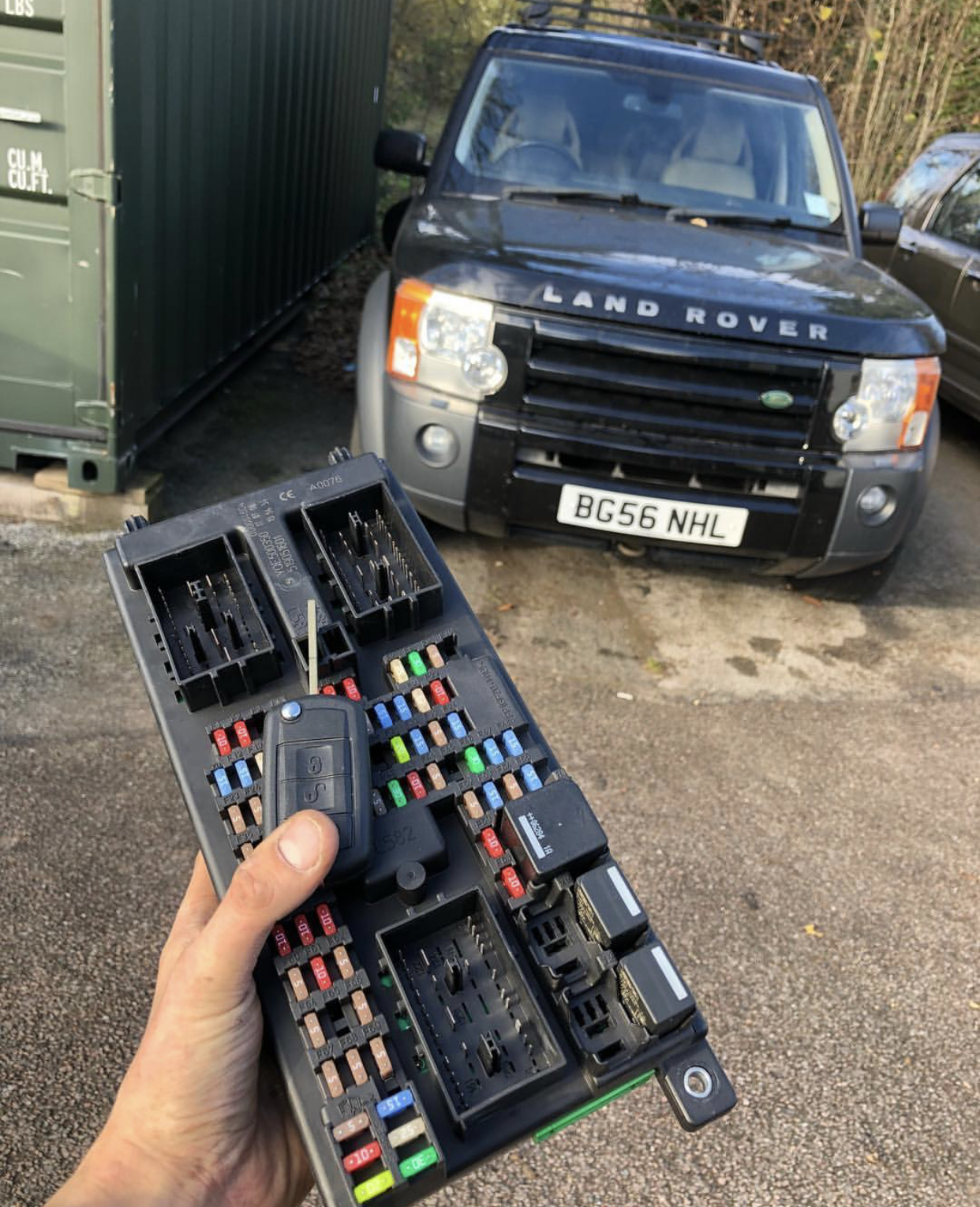 Land Rover Discovery 3 Key replacement Hertford