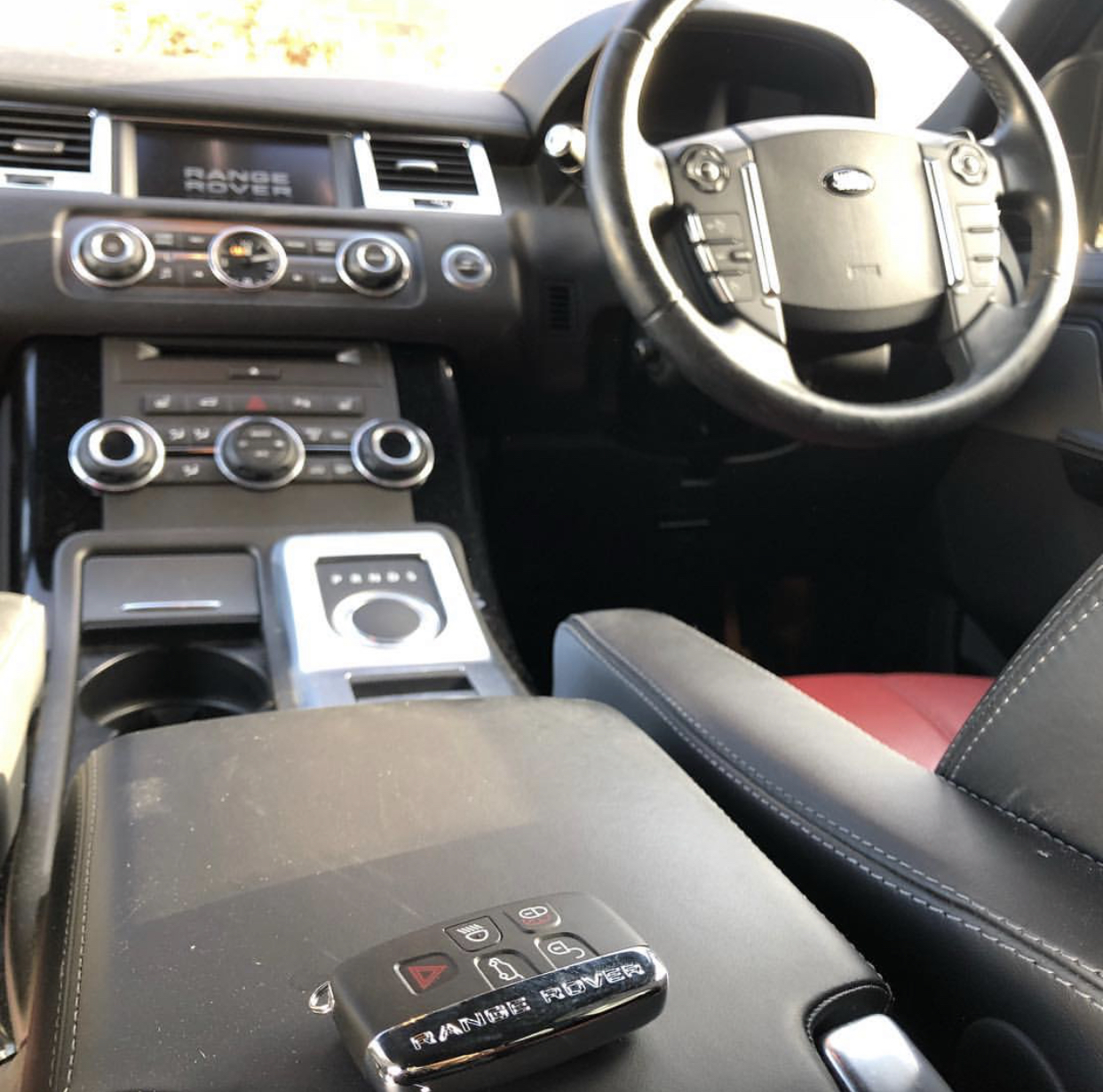 Keys Locked Inside Range Rover Sport