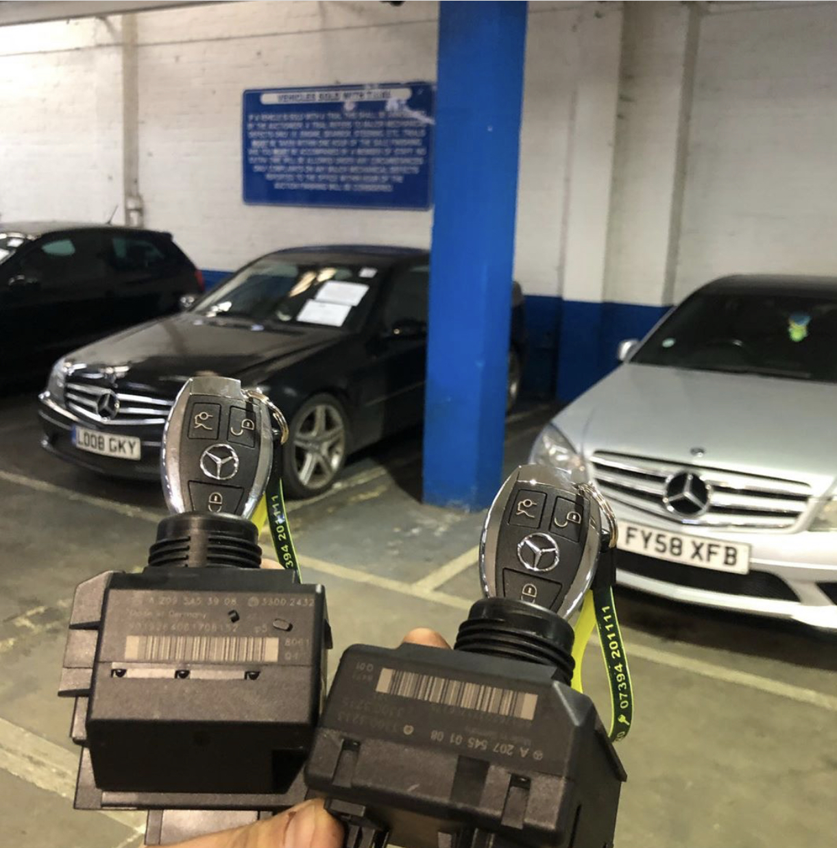 Mobile Mercedes Key Auto Locksmith