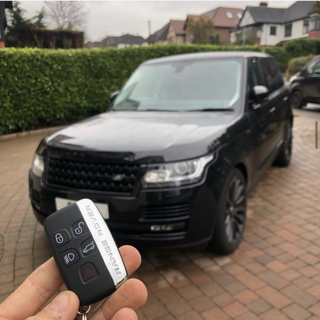 Range Rover Evoque Key Replacement