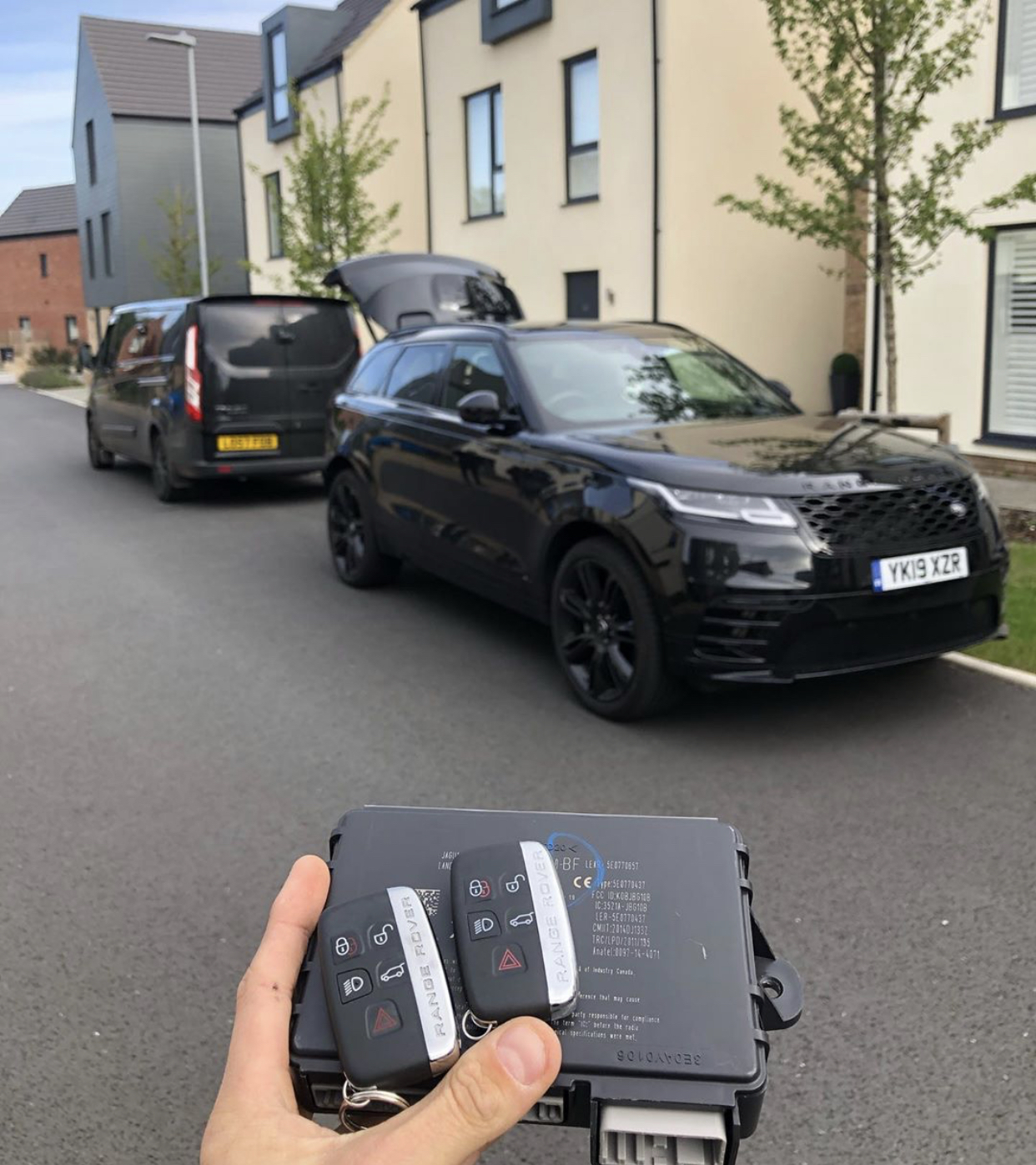 2019 Range Rover Velar Key Supplied And Programmed