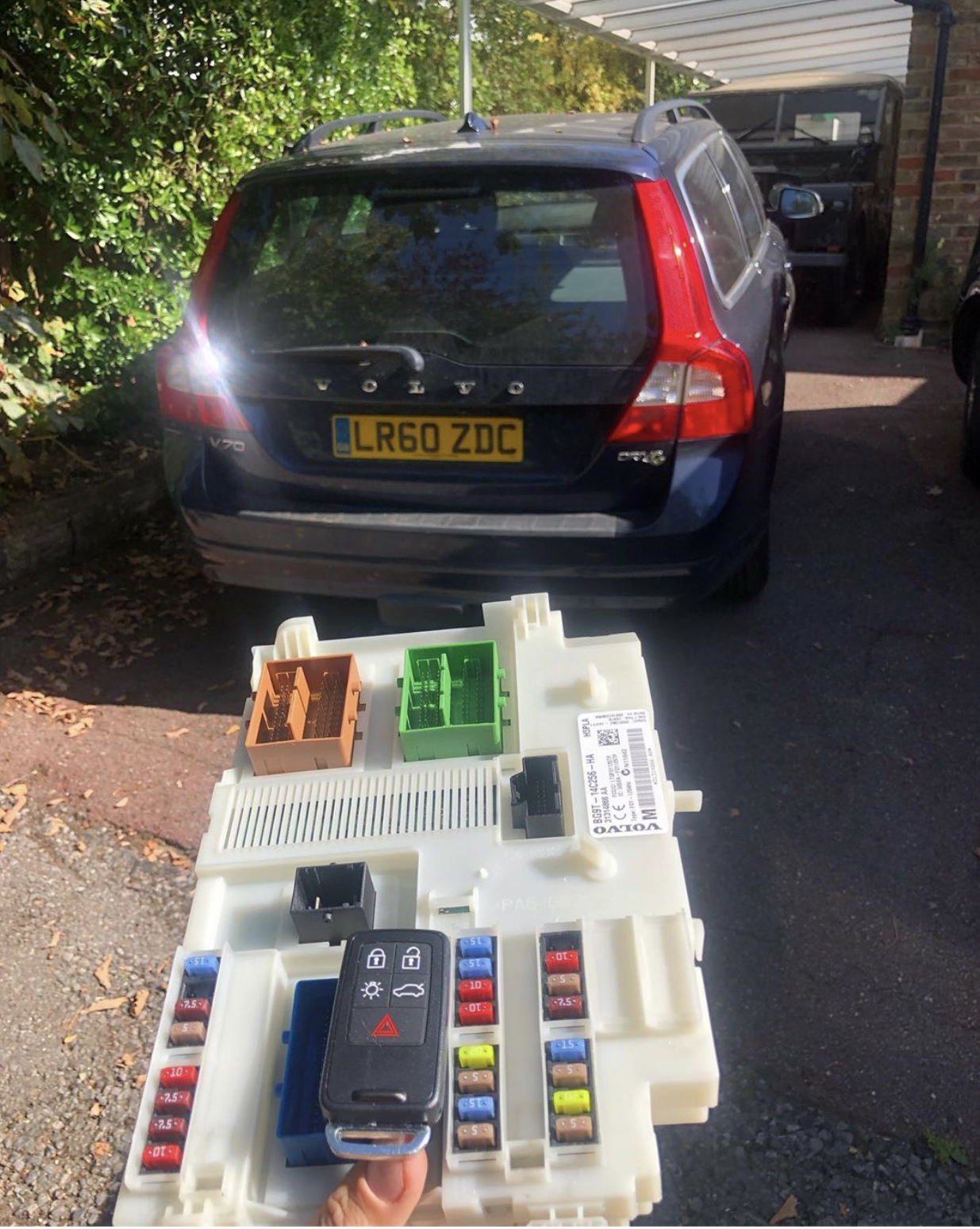 Volvo V70 Lost Key Replacement